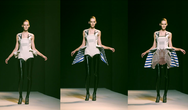 Transformer fashion / Chalayan's Robot Dress
