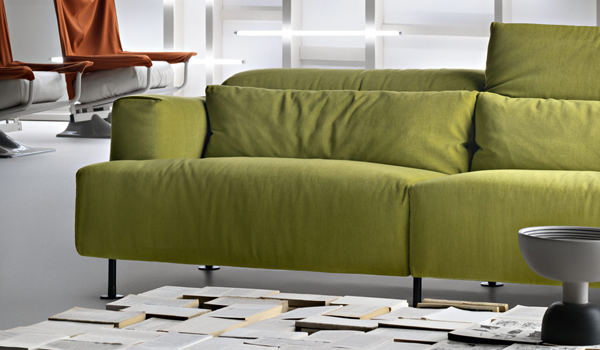 "Greener than ever / Piero Lissoni's ""Aire"" sofa"