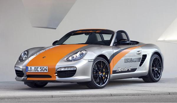 Electric incarnation / The Porsche Boxter E