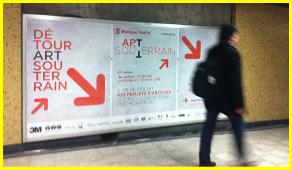 Montreal / Art souterrain