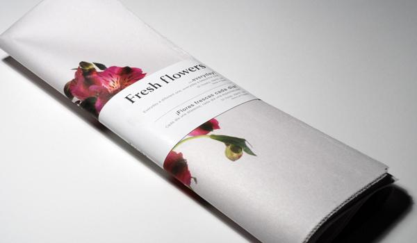 "A flower a day / Itunube's ""Flores frescas"""