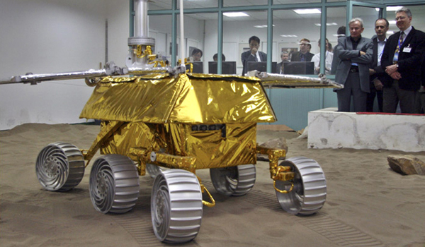 Roll over my rover / Bombardier on Mars