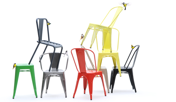 Perforated classic / The Tolix chair