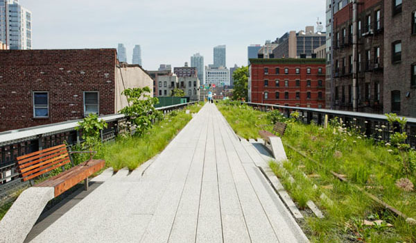 Phase two / Highline in NYC