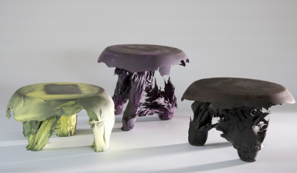 Beam me up \ Gravity stool by Jólan van der Wiel
