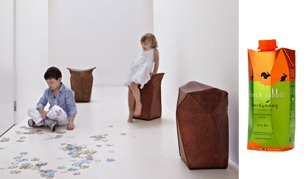Tetra / Particles stools by Tom Dissel