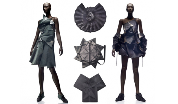 Multi-dimension / Miyake's recycled garnments
