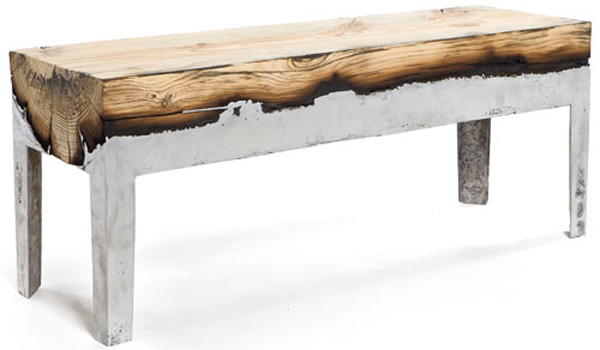 Hot wood / The benches of Hilla Shamia