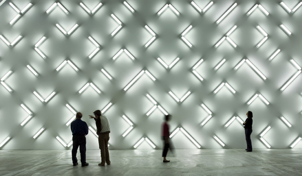 Light focus / Robert Irwin's installations