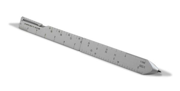 Tool refill : Scale pen by Shigeru Ban